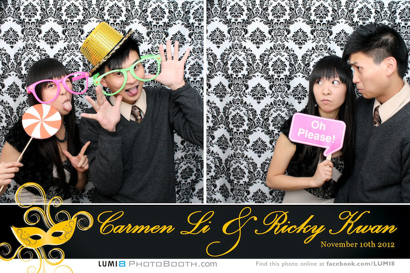 Lumi8 photo booth